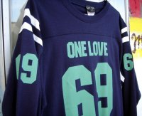 One Love 69 (L/S Foot Ball Tee)