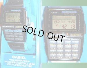 画像1: CASIO DATA BANK CALCULATOR DBC-630A-1 (1276) データバンク カリキュレーター 海外モデル