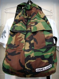One Love Camouflage Daypack