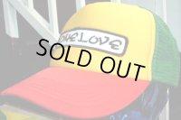 One Love × Rasta Mesh Cap