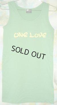 One Love スウェット ロング タンクトップ