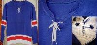ビンテージ フットボール レースアップ トリコロール Tシャツ