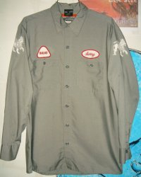 Jah Lion Work L/S Shirts ジャーライオン ワークシャツ