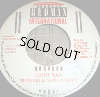 中古 Tippa Lee & Rappa Robert / Light Man 7インチ 1988 Redman