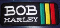 BOB MARLEY ワッペン