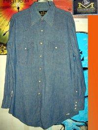 BLUE BELL MAVERICK シャンブレー シャツ ウエスタンシャツ