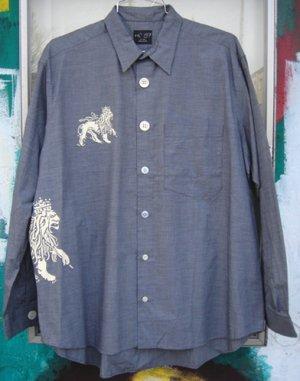 画像1: Free and Easy (L/S Jah Lion Shirts)