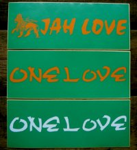 m-69 Original Sticker (One Love,Jah Love)